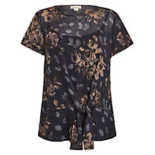 Buy Celuu Cassie Floral Side Tie Top, Multi Online at johnlewis.com