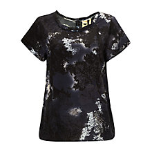 Buy White Stuff Gisele Top, Dark Grey Online at johnlewis.com