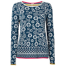 Buy White Stuff Dance Hall Hope Jumper, Teal Online at johnlewis.com