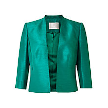 Buy Jacques Vert Edge To Edge Jacket, Bright Green Online at johnlewis.com
