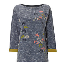 Buy White Stuff Flock Of Birds Sweater, Starlight Blue Online at johnlewis.com