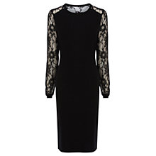 Buy Coast Brina Knit Dress, Black Online at johnlewis.com