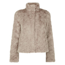 Buy Oasis Short Faux Fur Coat Online at johnlewis.com