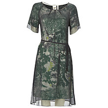 Buy White Stuff Alma Dress, Emerald Green Online at johnlewis.com