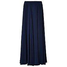 Buy Jacques Vert Maxi Layered Chiffon Skirt, Navy Online at johnlewis.com