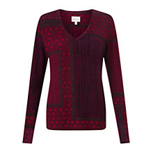 Buy East Marrakesh Print Jersey Top Online at johnlewis.com