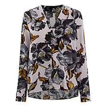 Buy Warehouse Long Sleeve Wrap Blouse Online at johnlewis.com