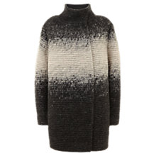 Buy Mint Velvet Ombre Coat, Grey Online at johnlewis.com