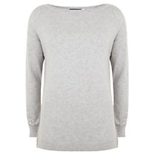 Buy Mint Velvet Sequin Knit, Grey Online at johnlewis.com