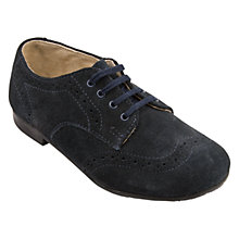 Buy Start-Rite Charles Classics Suede Shoes, Blue Online at johnlewis.com