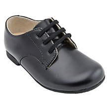 Buy Start-Rite John Classics Leather School Shoes, Black Online at johnlewis.com