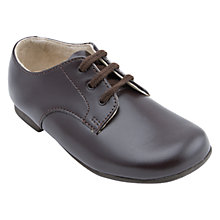 Buy Start-Rite John Classics Leather School Shoes, Brown Online at johnlewis.com