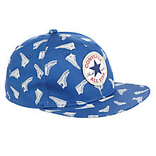 Buy Converse Boys' Flat Brim Cap, Blue Online at johnlewis.com