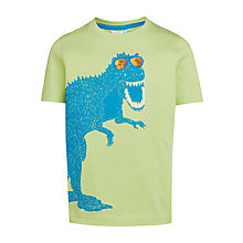 Buy John Lewis Boys' Sunglasses Dino Graphic T-Shirt, Green Online at johnlewis.com