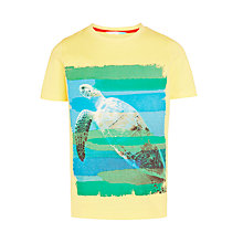 Buy John Lewis Boys' Turtle T-Shirt, Yellow Online at johnlewis.com