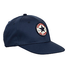 Buy Converse Boys' Flat Brim Cap, Navy Online at johnlewis.com