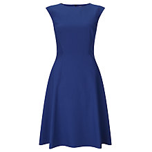 Buy John Lewis Fit And Flare Dress, Blue Online at johnlewis.com