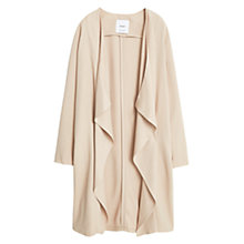 Buy Mango Waterfall Jacket, Light Medium Brown Online at johnlewis.com