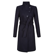 Buy Hobbs Alyssa Coat, Navy Online at johnlewis.com