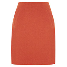 Buy Hobbs Penny Skirt, Coral Orange Online at johnlewis.com