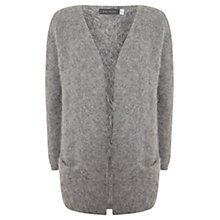 Buy Mint Velvet Oversized Alpaca Blend Cardigan, Granite Online at johnlewis.com