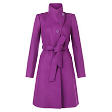 Buy Hobbs Alyssa Coat, Lunaberry Online at johnlewis.com