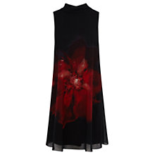 Buy Coast Exploded Bloom Lois Dress, Black Online at johnlewis.com