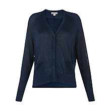 Buy Whistles Sparkle Cardigan, Blue Online at johnlewis.com