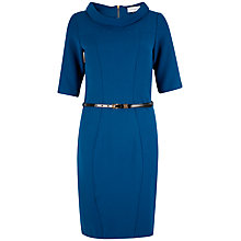 Buy Closet Collar Panel Dress, Blue Online at johnlewis.com
