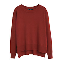 Buy Mango Essential Cotton Jumper Online at johnlewis.com
