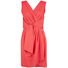 Buy Closet Cross Over Dress, Coral Online at johnlewis.com