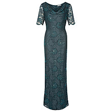 Buy Jacques Vert Lace Cowl Neck Maxi Dress Online at johnlewis.com