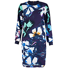 Buy Closet Floral Tunic Dress, Multi Online at johnlewis.com