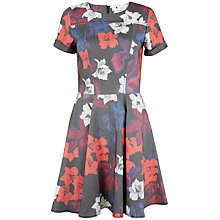 Buy Closet Floral Turn Up Dress, Multi Online at johnlewis.com