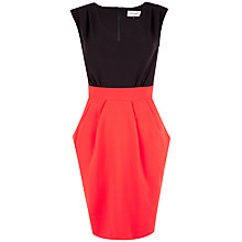 Buy Closet 2 In 1 V-Neck Dress, Red Online at johnlewis.com