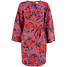 Buy Closet Floral Wrap Dress, Multi Online at johnlewis.com