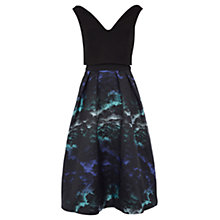 Buy Coast Skye Jacquard Dress, Multi Online at johnlewis.com