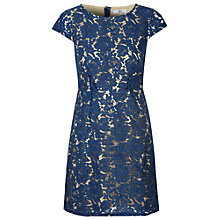 Buy True Decadence Lace Dress, Navy Online at johnlewis.com