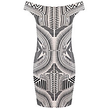 Buy Miss Selfridge Bodycon Dress, Nude Online at johnlewis.com