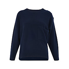 Buy Whistles Pocket Detail Cashmere Jumper Online at johnlewis.com
