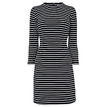 Buy Whistles Dawn Stripe Jersey Dress, Multicolour Online at johnlewis.com