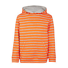 Buy John Lewis Boys' Stripe Double Face Hoodie Online at johnlewis.com
