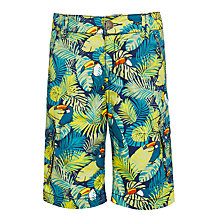 Buy John Lewis Boys' Toucan Shorts, Blue Online at johnlewis.com