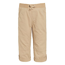 Buy John Lewis Boys' Roll Up Ripstop Trousers Online at johnlewis.com
