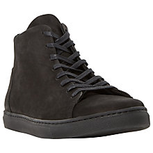 Buy Dune Sawyer Suede Hi-Top Trainers Online at johnlewis.com
