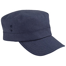 Buy JOHN LEWIS & Co. Linen Workman Hat Online at johnlewis.com