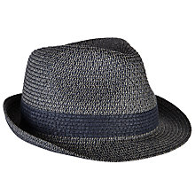 Buy John Lewis Packable Braid Trilby Hat Online at johnlewis.com