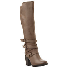 Buy Steve Madden York Block Heeled Knee High Boots Online at johnlewis.com