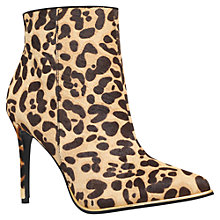 Buy KG by Kurt Geiger Ritz High Heel Ankle Boots Online at johnlewis.com