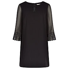 Buy Planet Yoke Shift Tunic, Black Online at johnlewis.com